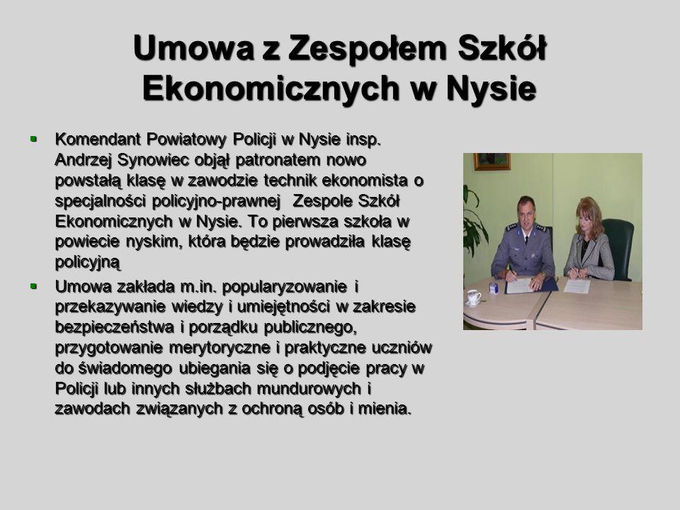 Umowa z Zespołem Szkół Ekonomicznych w Nysie
