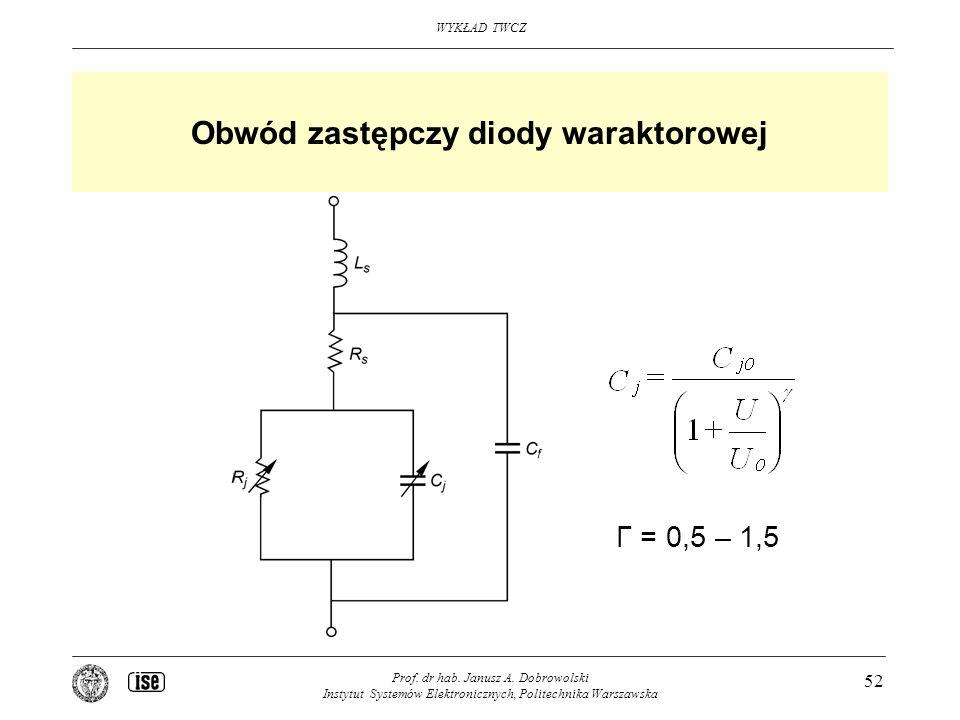Obwód zastępczy diody waraktorowej