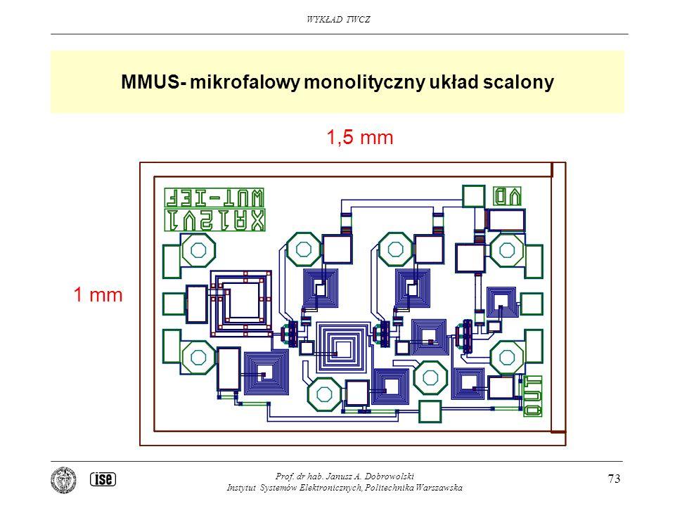 MMUS- mikrofalowy monolityczny układ scalony