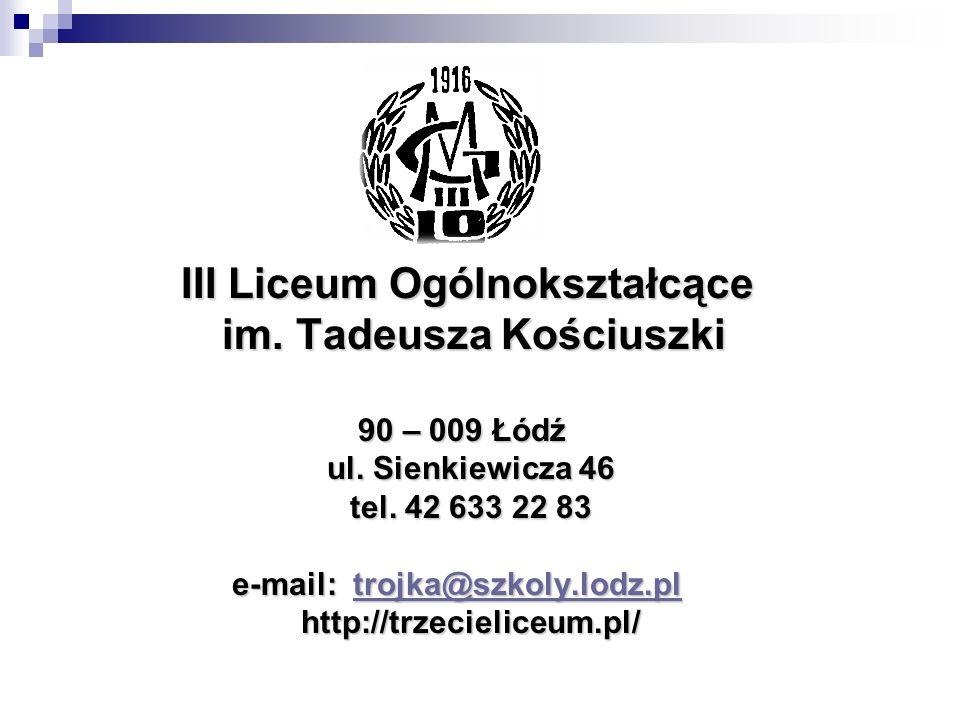im. Tadeusza Kościuszki