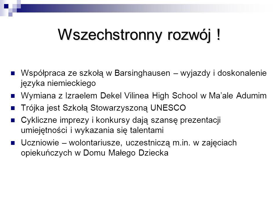 Wszechstronny rozwój ! Współpraca ze szkołą w Barsinghausen – wyjazdy i doskonalenie języka niemieckiego.