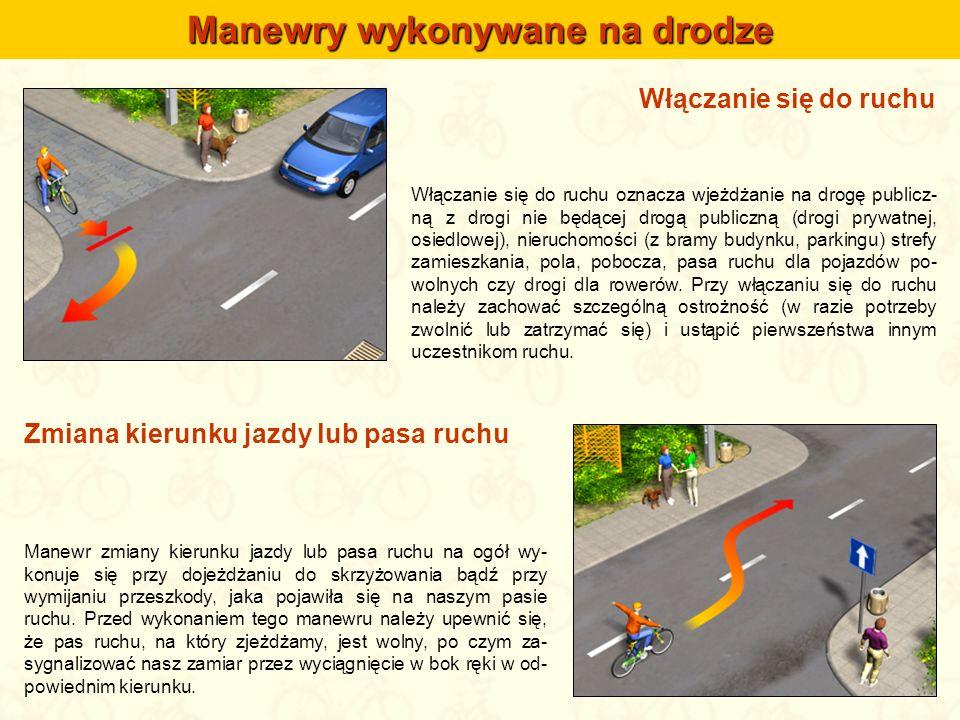 Manewry wykonywane na drodze