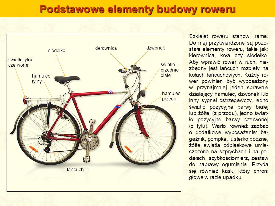 Podstawowe elementy budowy roweru