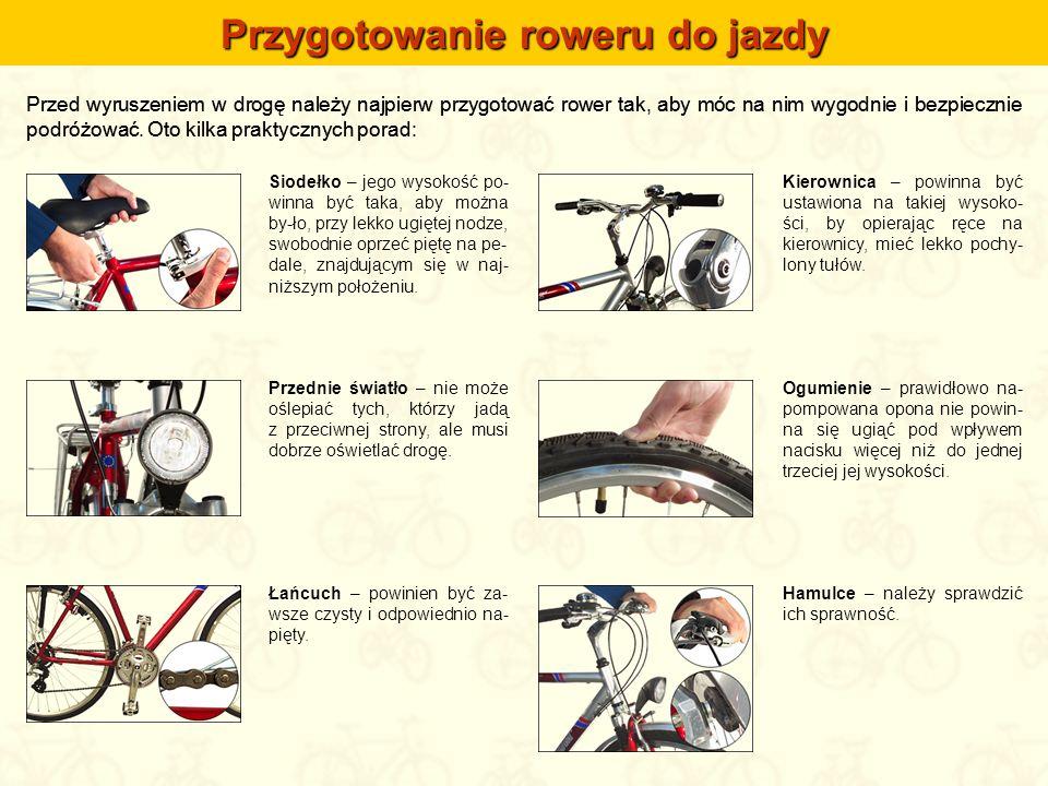Przygotowanie roweru do jazdy