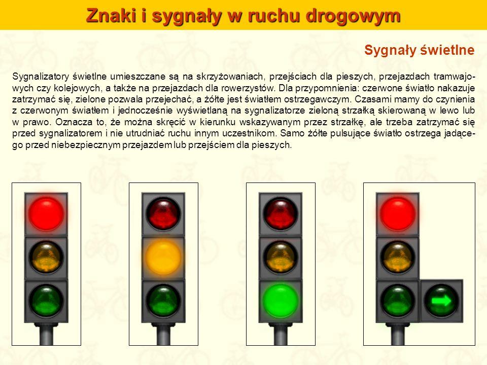 Znaki i sygnały w ruchu drogowym