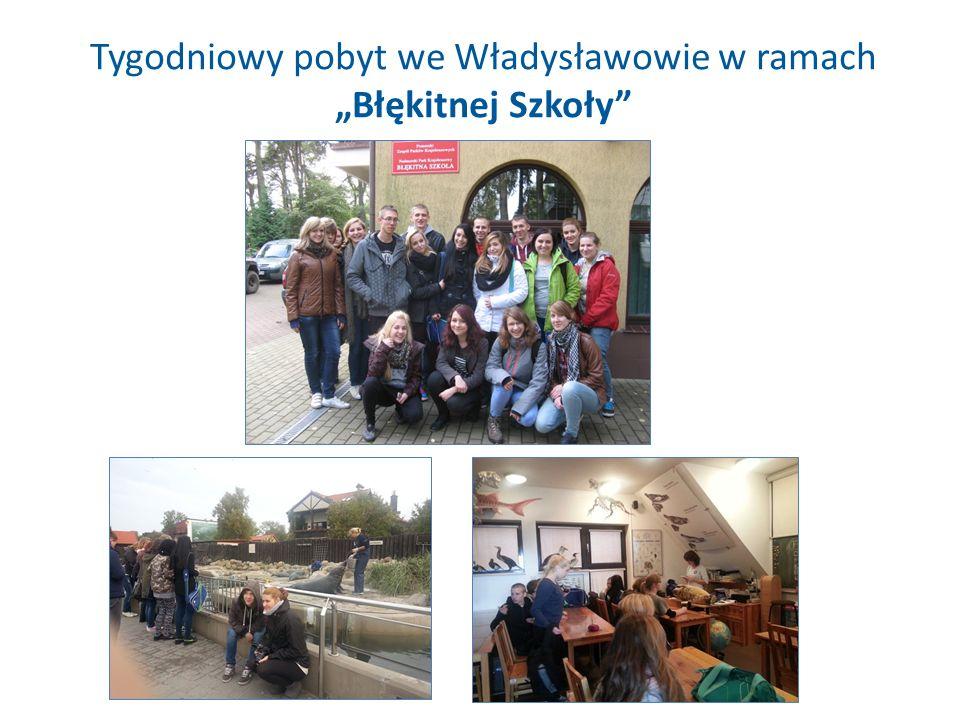 """Tygodniowy pobyt we Władysławowie w ramach """"Błękitnej Szkoły"""