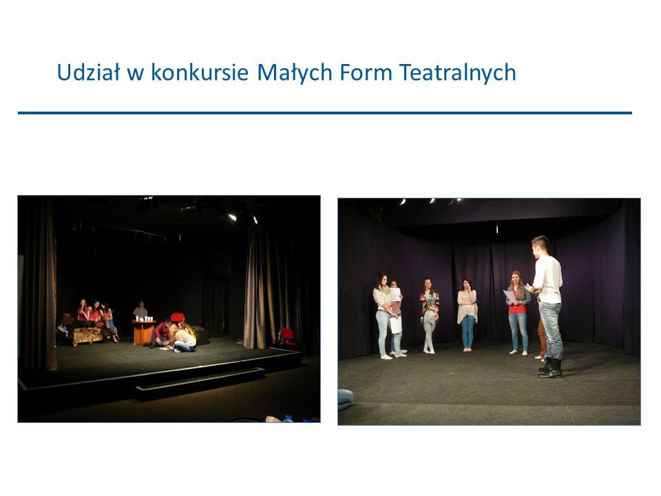 Udział w konkursie Małych Form Teatralnych