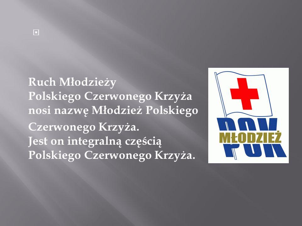 Ruch Młodzieży Polskiego Czerwonego Krzyża nosi nazwę Młodzież Polskiego