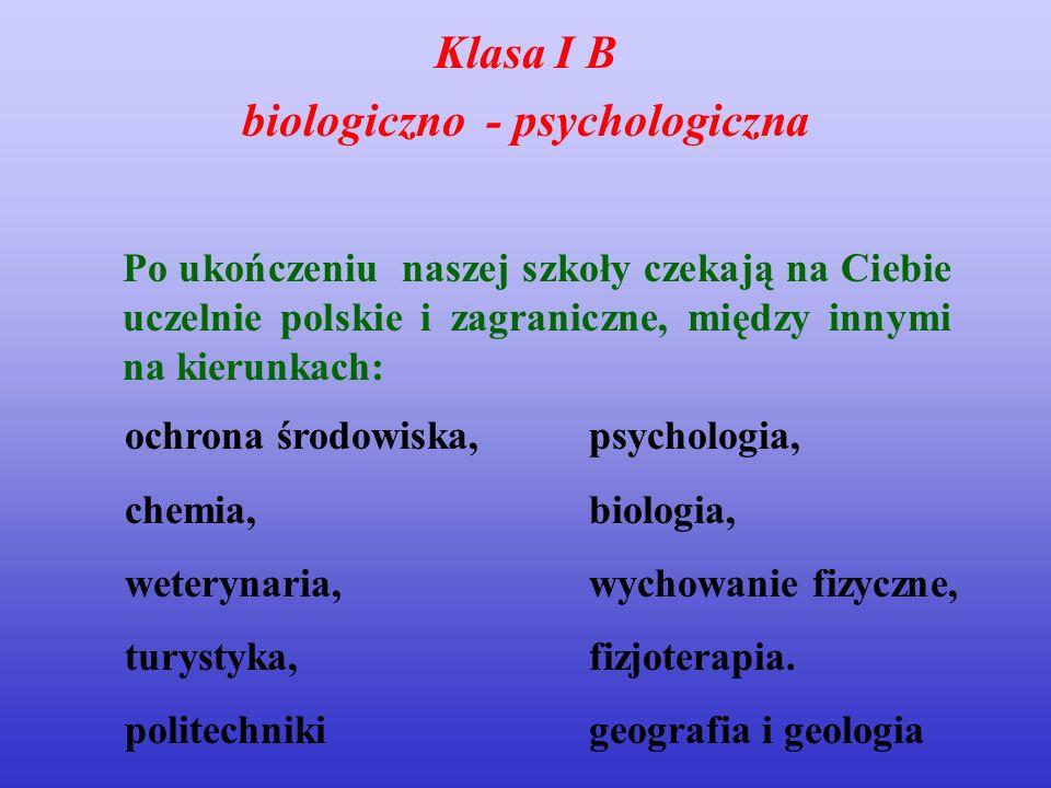 biologiczno - psychologiczna