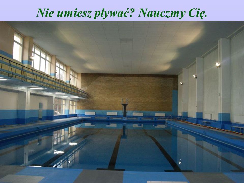 Nie umiesz pływać Nauczmy Cię.