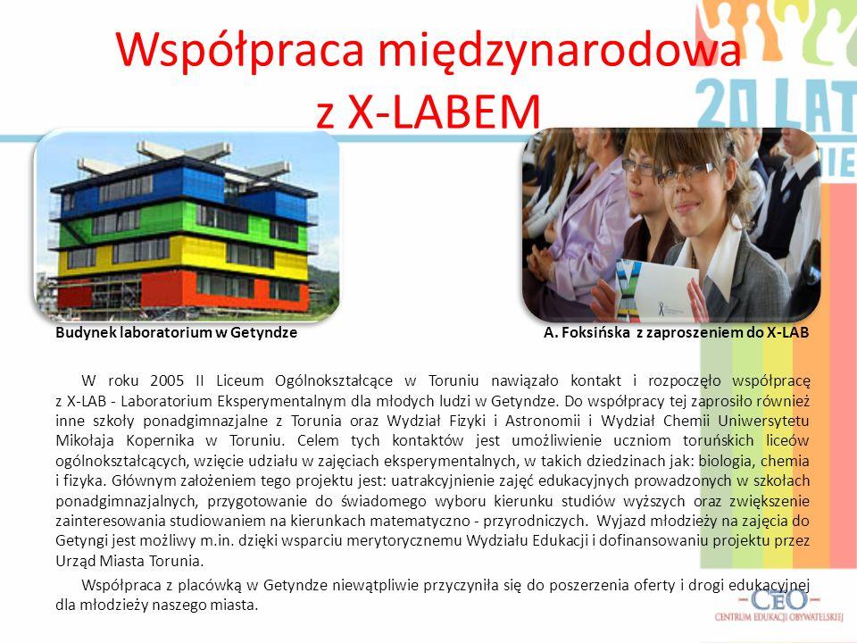 Współpraca międzynarodowa z X-LABEM