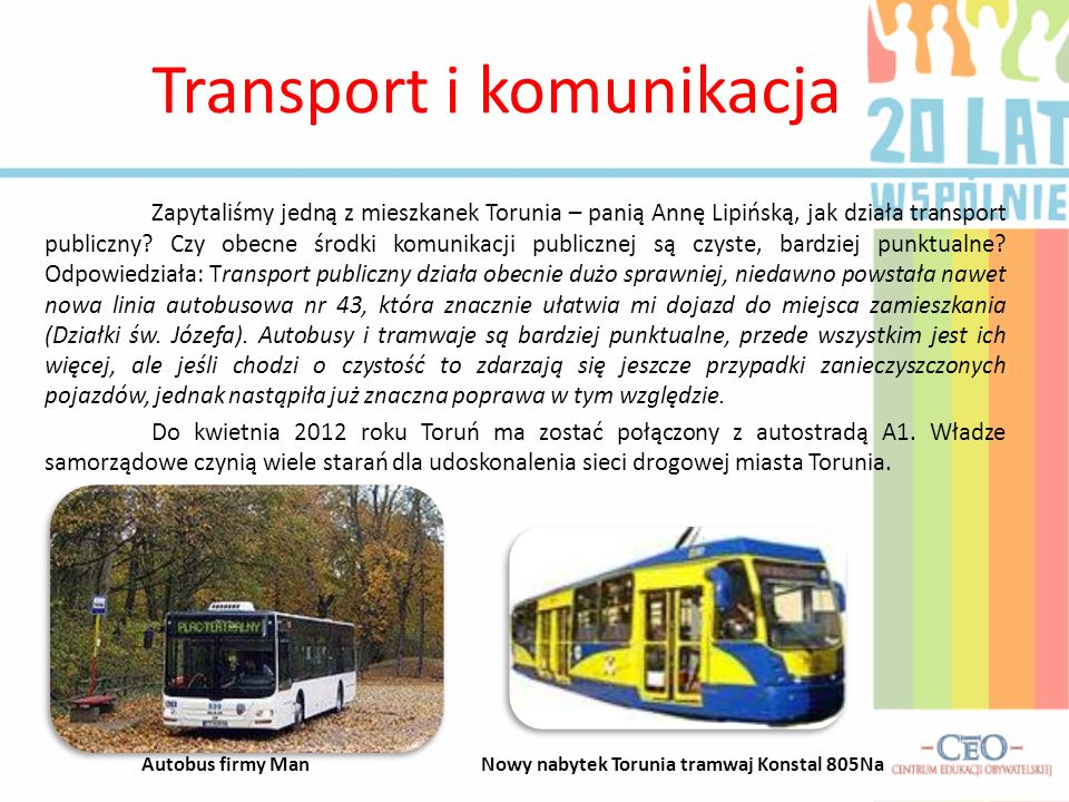 Transport i komunikacja