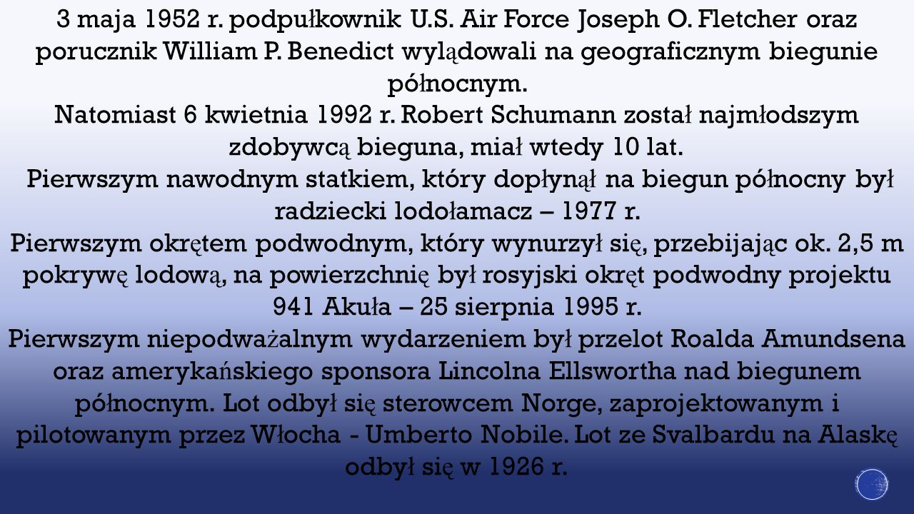 3 maja 1952 r. podpułkownik U. S. Air Force Joseph O
