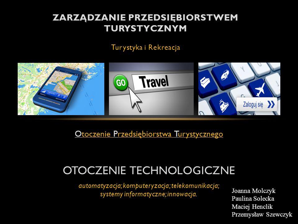 Zarządzanie przedsiębiorstwem turystycznym Turystyka i Rekreacja