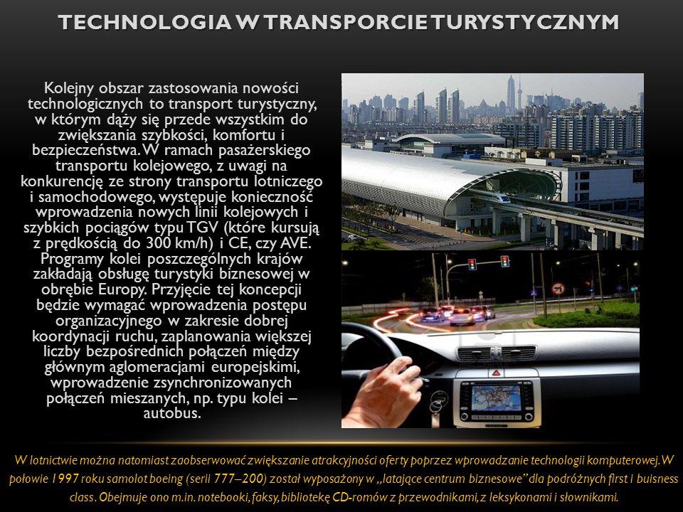 Technologia w Transporcie turystycznym