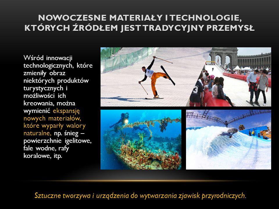 Sztuczne tworzywa i urządzenia do wytwarzania zjawisk przyrodniczych.