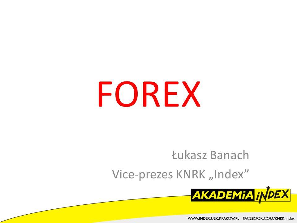 "Łukasz Banach Vice-prezes KNRK ""Index"