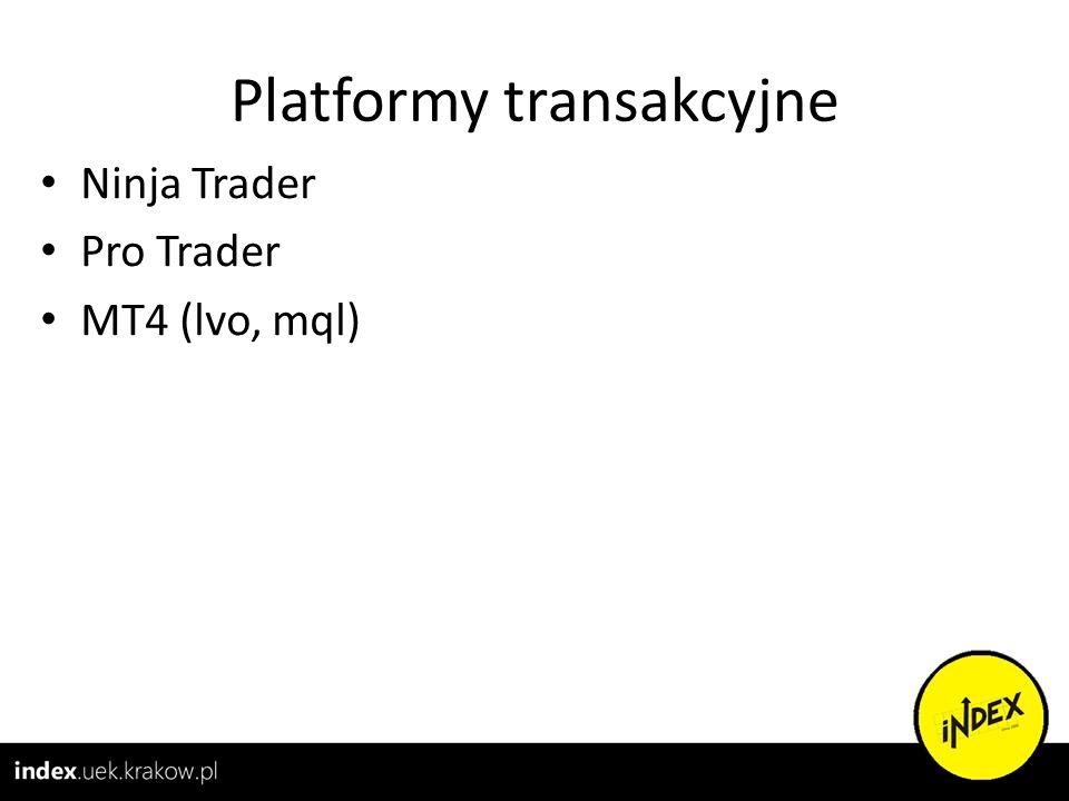 Platformy transakcyjne