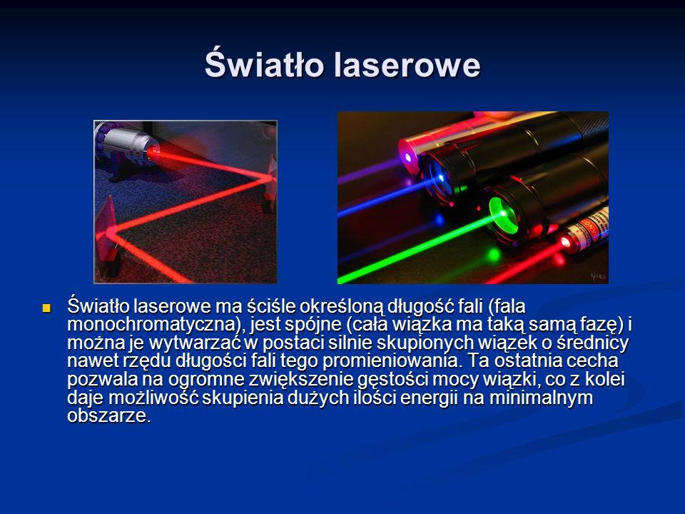 Światło laserowe