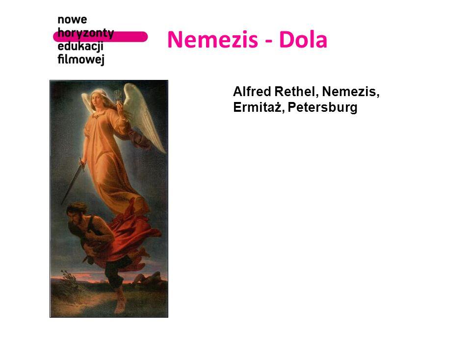 Nemezis - Dola Alfred Rethel, Nemezis, Ermitaż, Petersburg