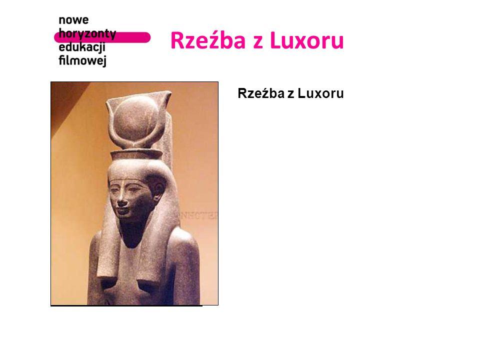 Rzeźba z Luxoru Rzeźba z Luxoru