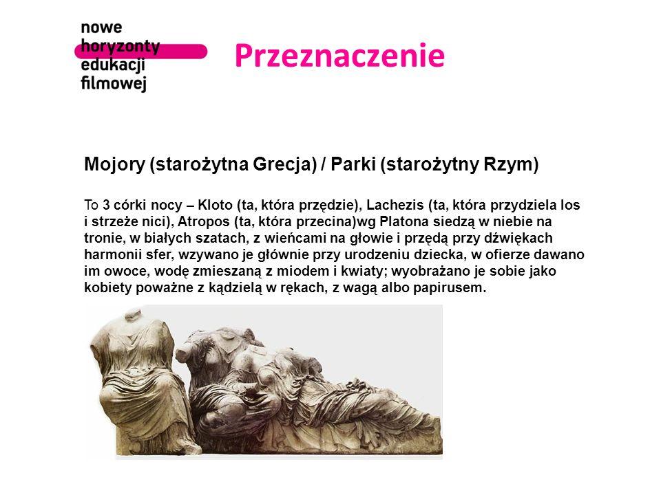 Przeznaczenie Mojory (starożytna Grecja) / Parki (starożytny Rzym)