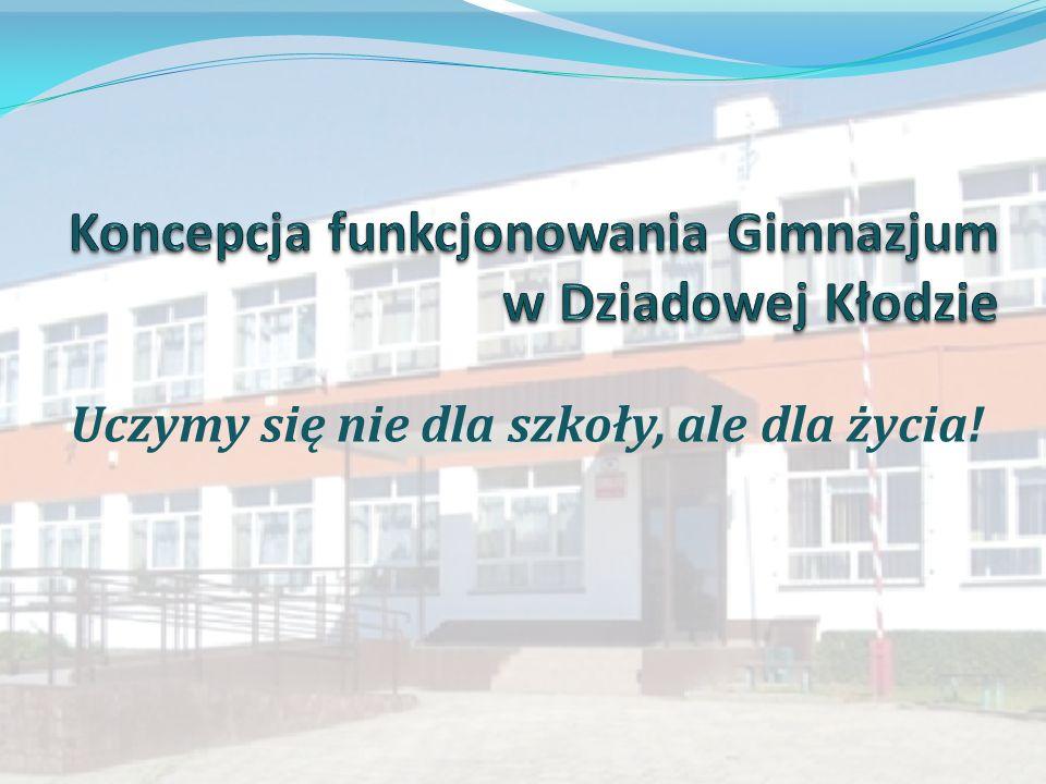 Koncepcja funkcjonowania Gimnazjum w Dziadowej Kłodzie
