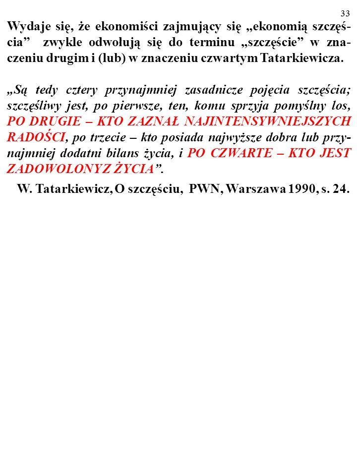 W. Tatarkiewicz, O szczęściu, PWN, Warszawa 1990, s. 24.