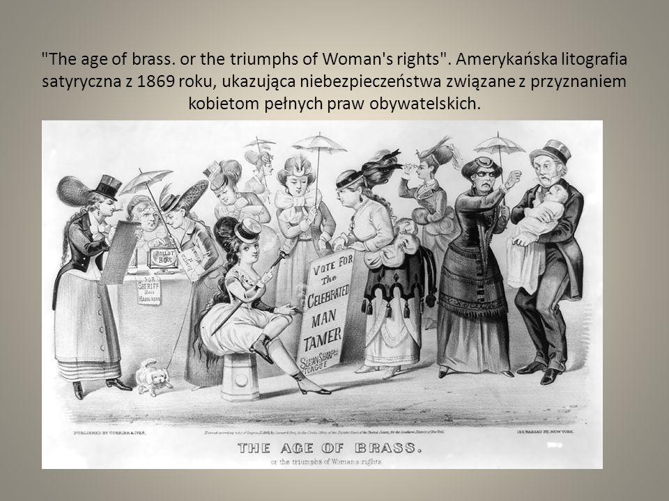 The age of brass. or the triumphs of Woman s rights
