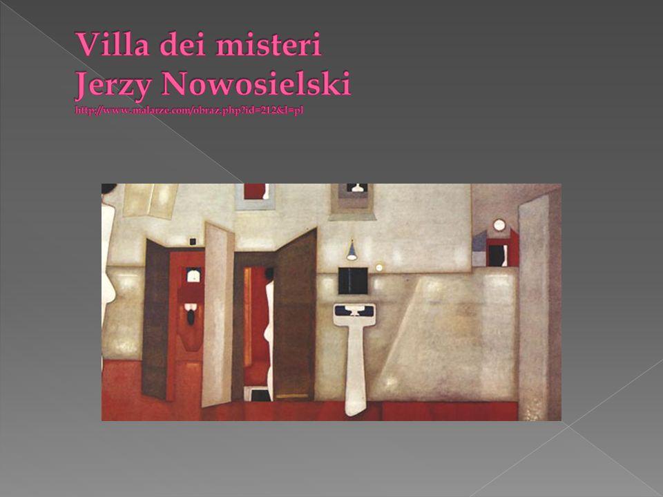 Villa dei misteri Jerzy Nowosielski http://www.malarze.com/obraz.php id=212&l=pl