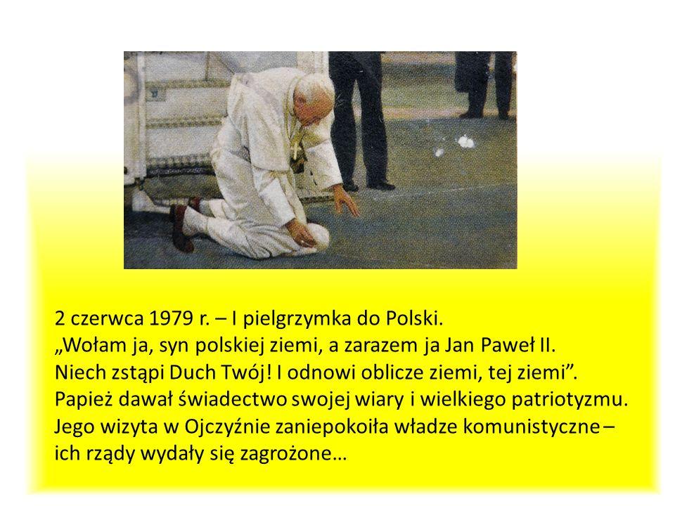 2 czerwca 1979 r. – I pielgrzymka do Polski