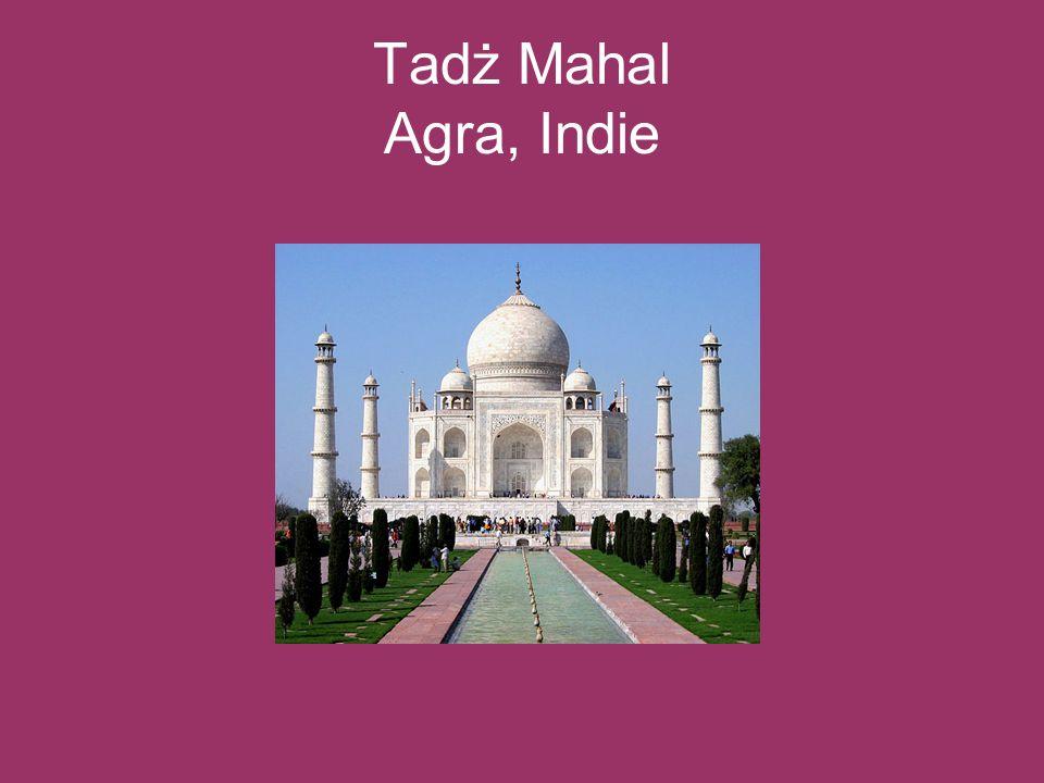 Tadż Mahal Agra, Indie