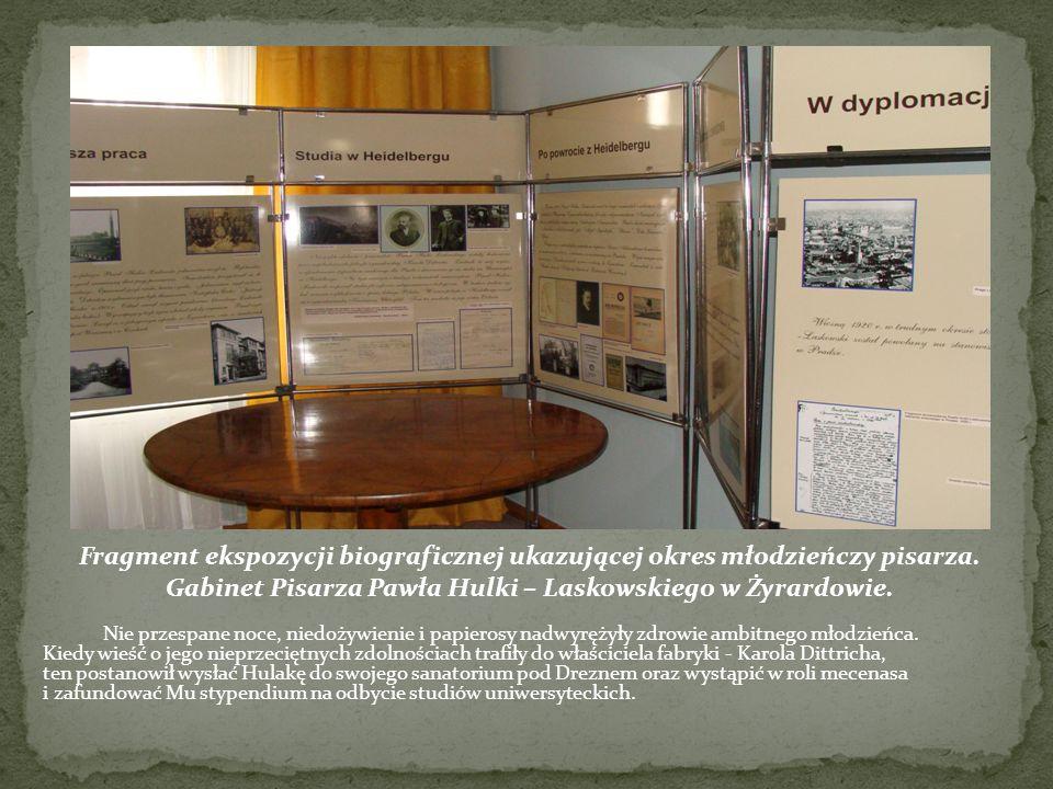 Gabinet Pisarza Pawła Hulki – Laskowskiego w Żyrardowie.
