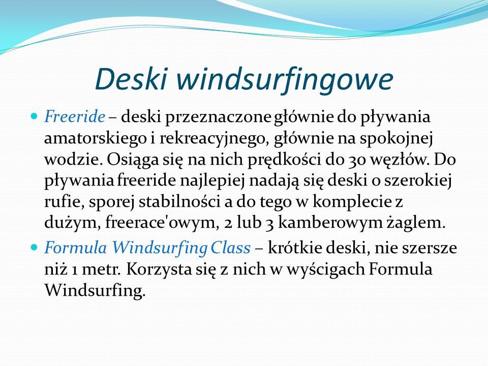 Deski windsurfingowe