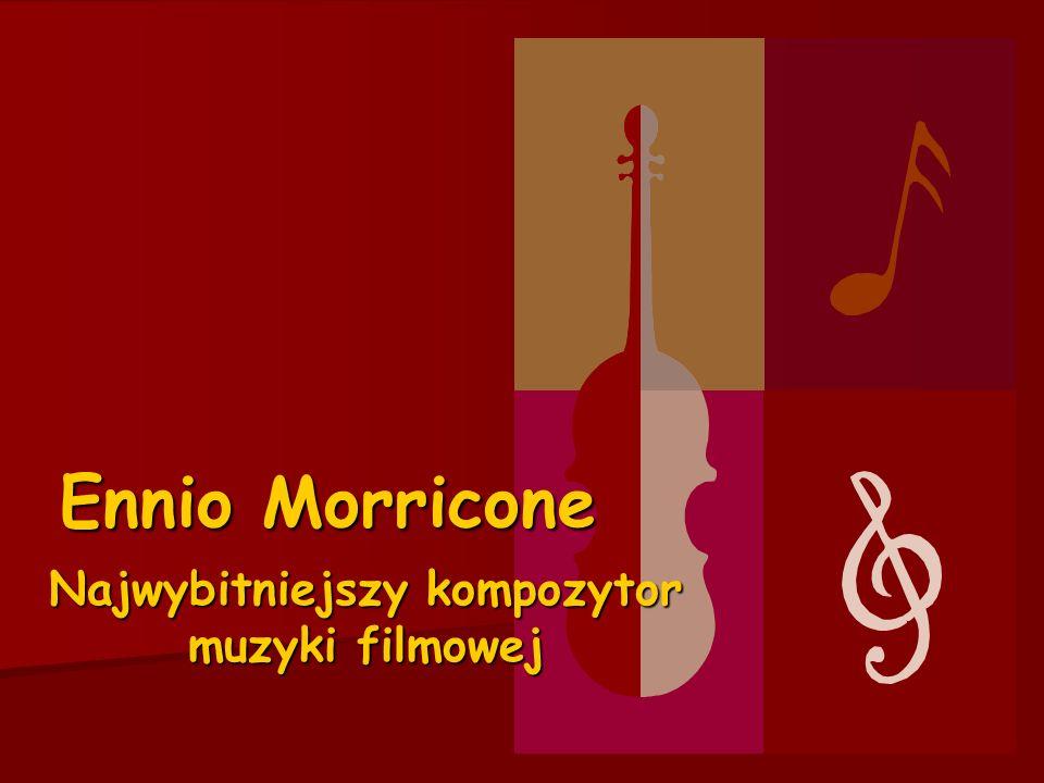 Najwybitniejszy kompozytor muzyki filmowej