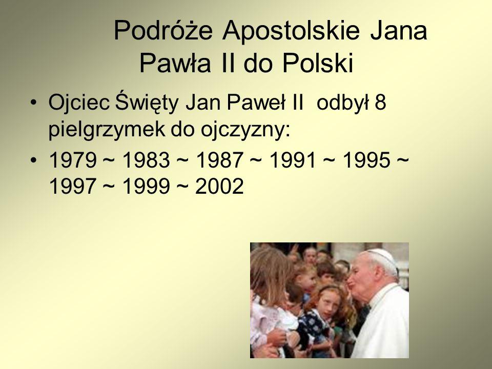 Podróże Apostolskie Jana Pawła II do Polski