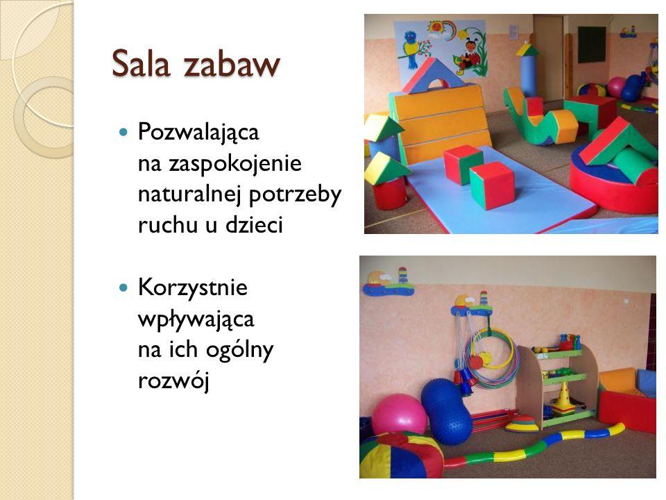 Sala zabaw Pozwalająca