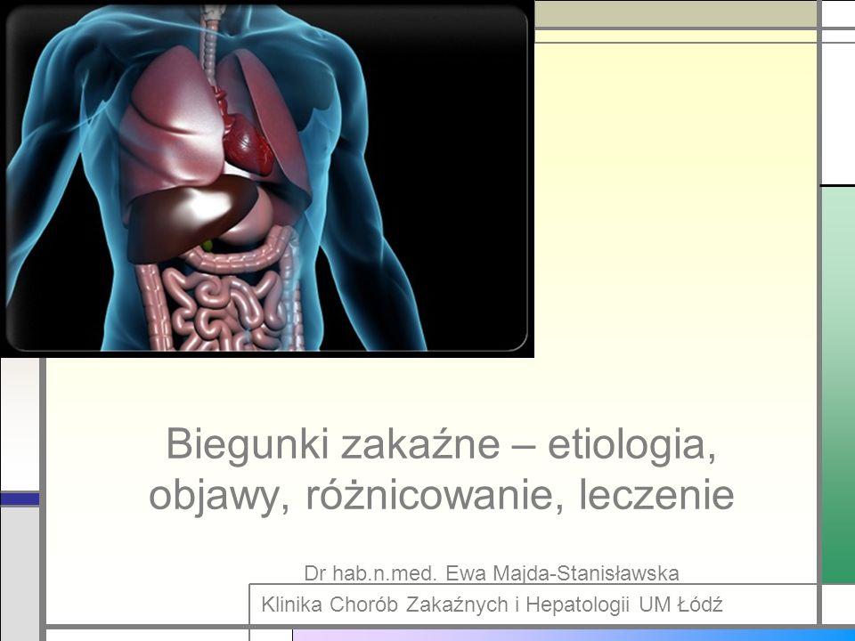 Biegunki zakaźne – etiologia, objawy, różnicowanie, leczenie