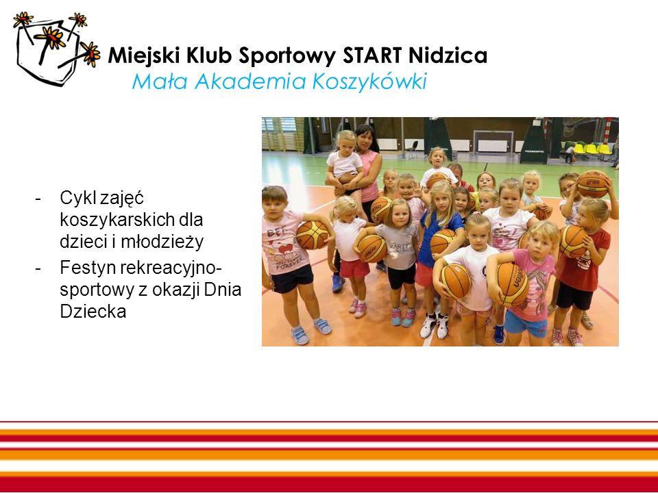 Miejski Klub Sportowy START Nidzica Mała Akademia Koszykówki