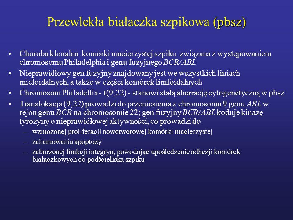 Przewlekła białaczka szpikowa (pbsz)