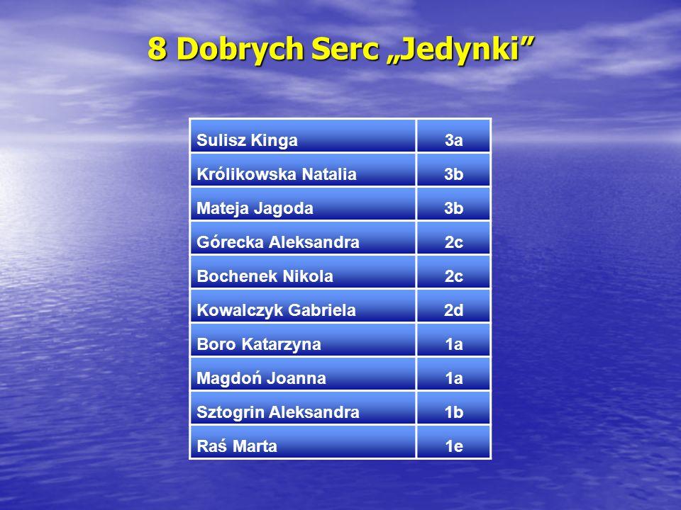 """8 Dobrych Serc """"Jedynki"""