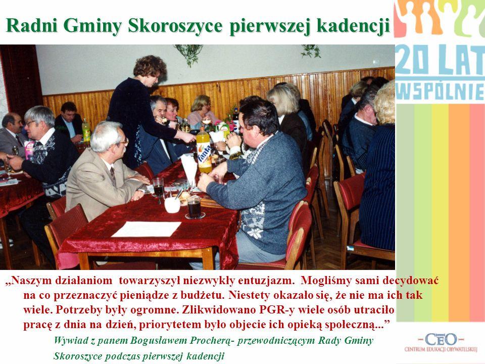 Radni Gminy Skoroszyce pierwszej kadencji