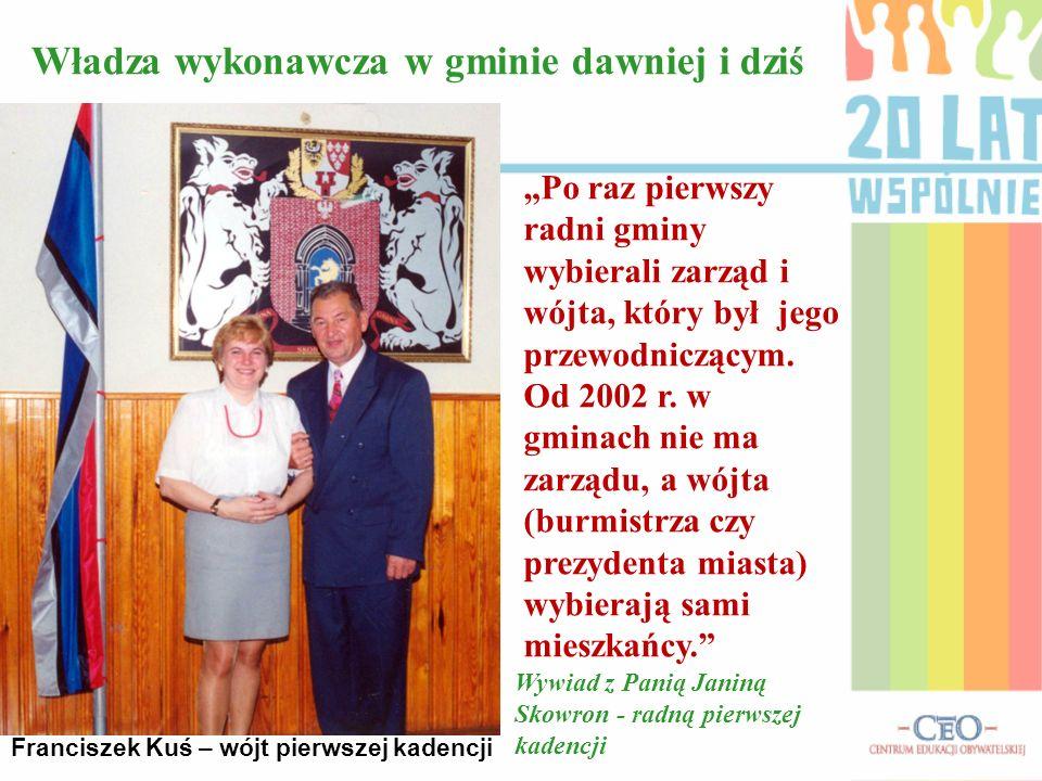 Franciszek Kuś – wójt pierwszej kadencji