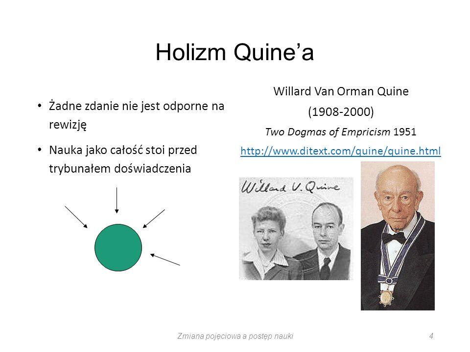 Holizm Quine'a Willard Van Orman Quine (1908-2000)