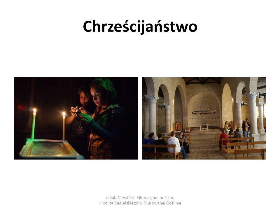Chrześcijaństwo Jakub Niewiński Gimnazjum nr 1 im. Hipolita Cegielskiego w Murowanej Goślinie
