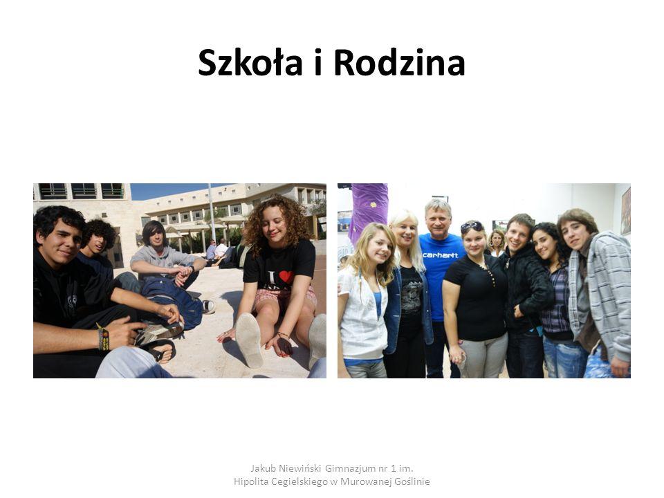 Szkoła i Rodzina Jakub Niewiński Gimnazjum nr 1 im. Hipolita Cegielskiego w Murowanej Goślinie