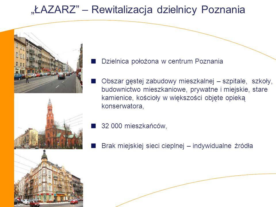 """""""ŁAZARZ – Rewitalizacja dzielnicy Poznania"""
