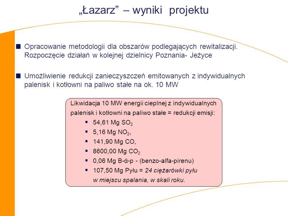 """""""Łazarz – wyniki projektu"""