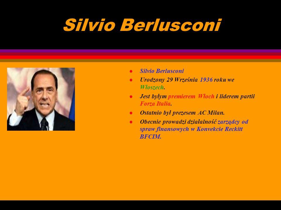 Silvio Berlusconi Silvio Berlusconi