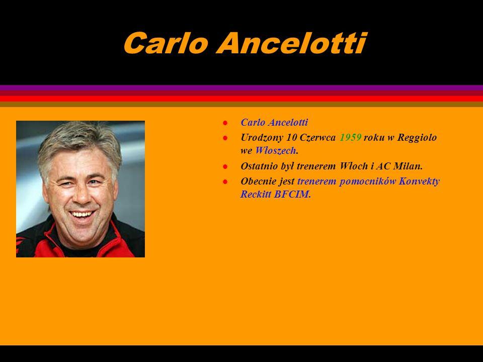 Carlo Ancelotti Carlo Ancelotti